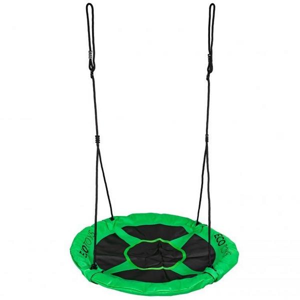 Leagan tip cuib ecotoys 100 cm - verde imagine