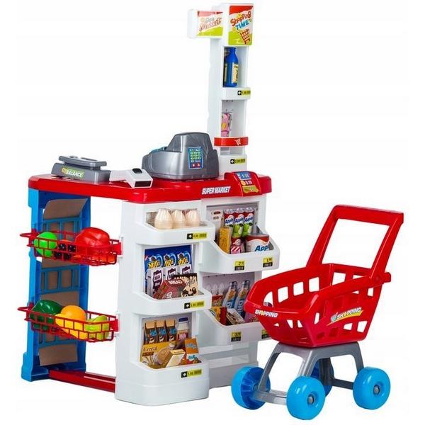 Set de joaca stand supermarket ecotoys hc206441