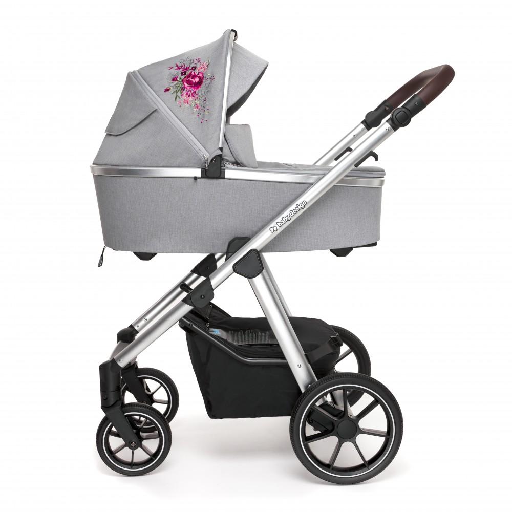 Baby Design Bueno carucior multifunctional 2 in 1 - 107 Gray Peony 2020 imagine
