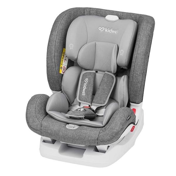 Scaun auto kidwell isofix spot 0-36 kg grey imagine