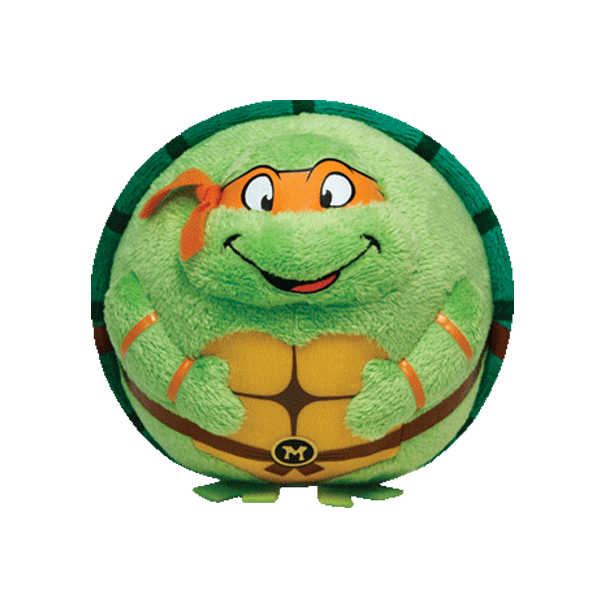 Plus Michelangelo TMNT (12 cm) - Ty imagine