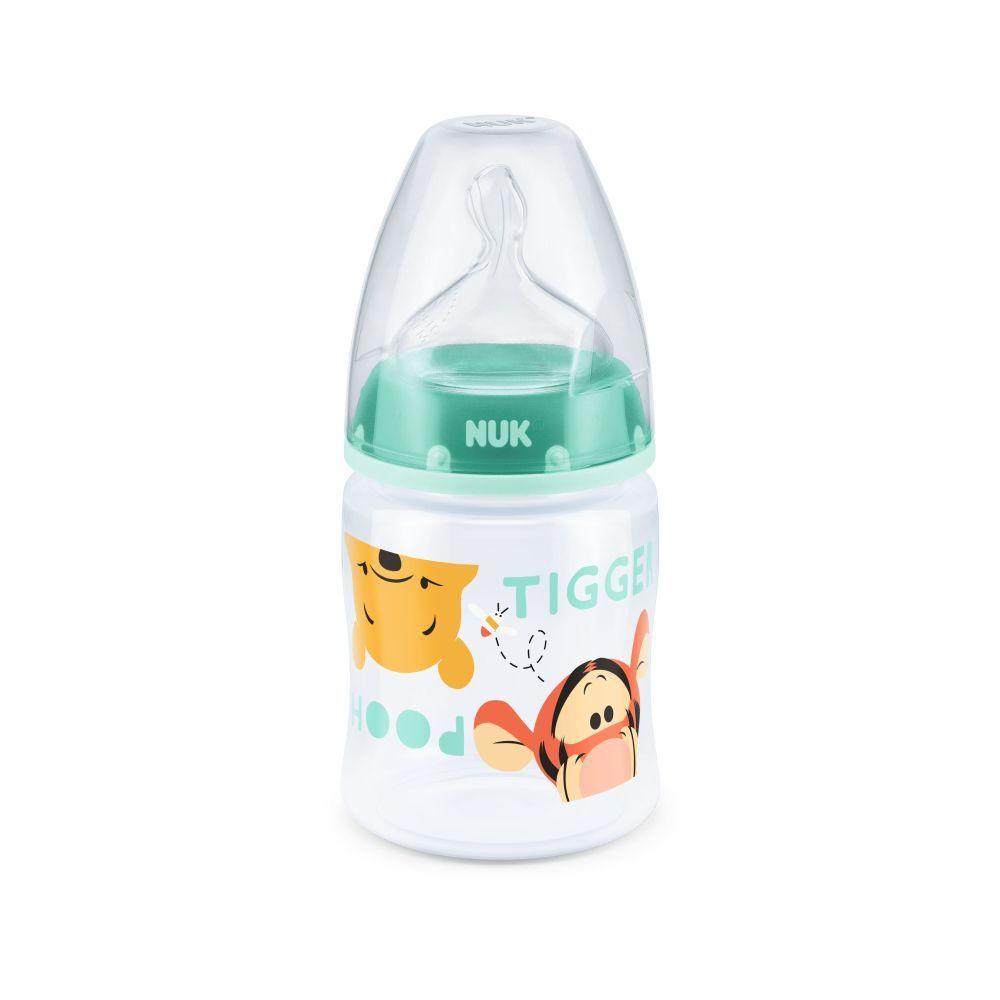 Biberon Nuk First Choice 150 ml Tetina Silicon Disney Vernil 0-6 luni imagine