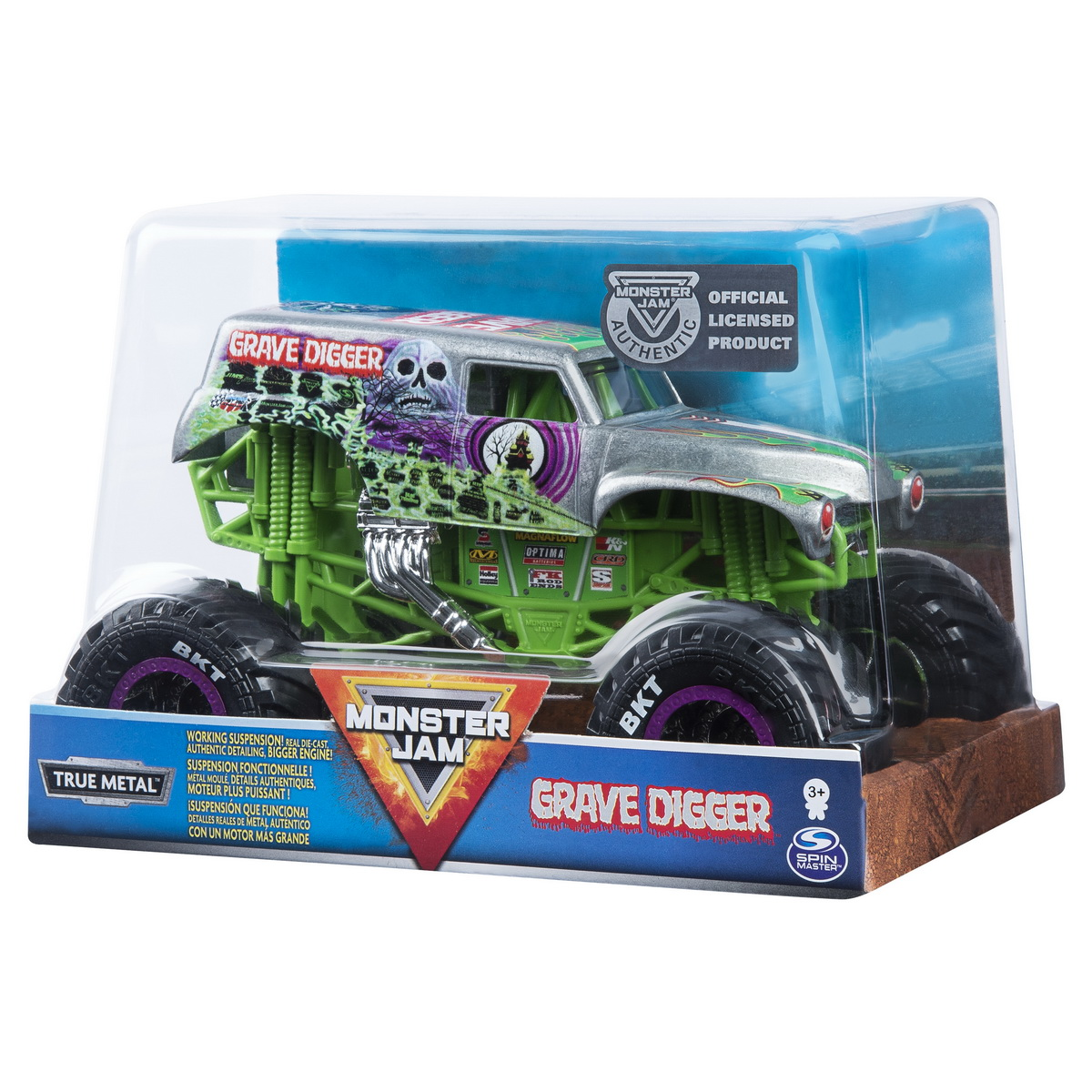 Monster jam macheta metalica scara 1 la 24 groparul
