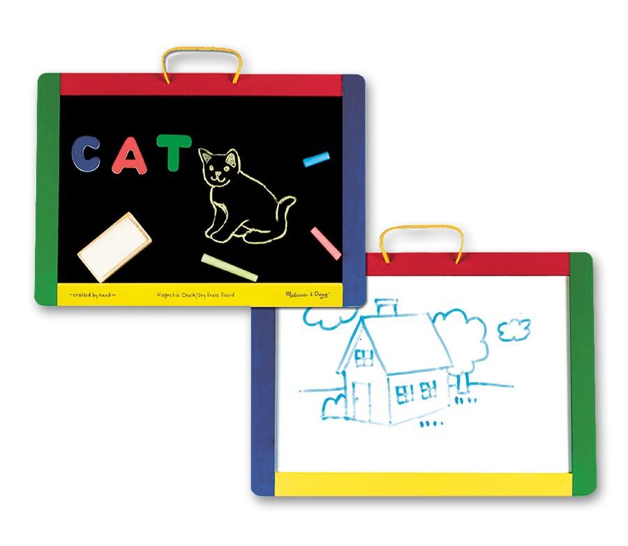Tabla Magnetica Si De Scris Cu Litere Melissa And Doug imagine