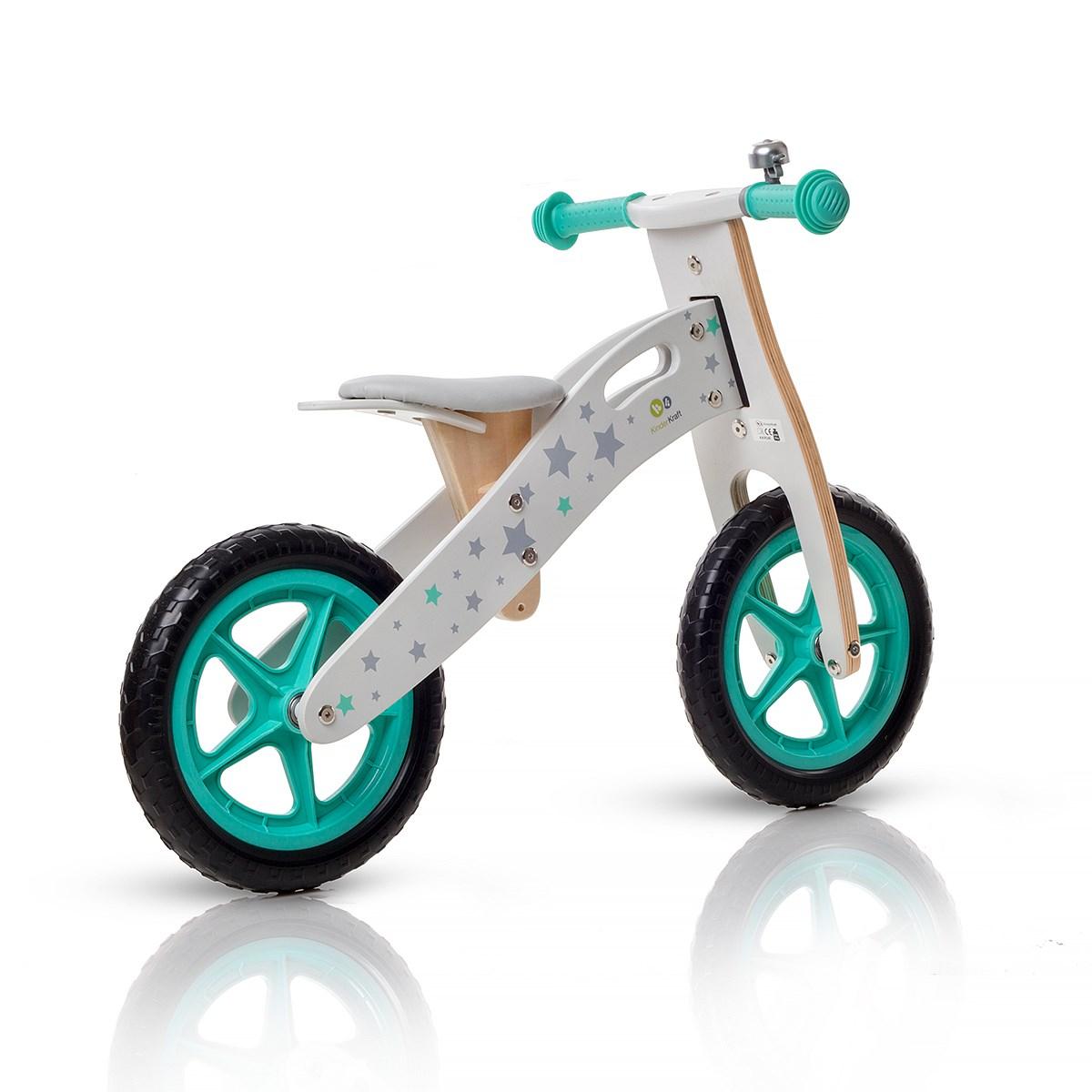Bicicleta Din Lemn Fara Pedale Runner Stars Deluxe
