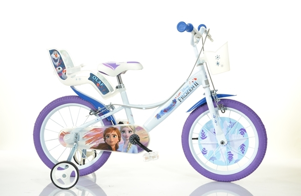 Bicicleta Frozen 16' - Dino Bikes-164FZ3 imagine