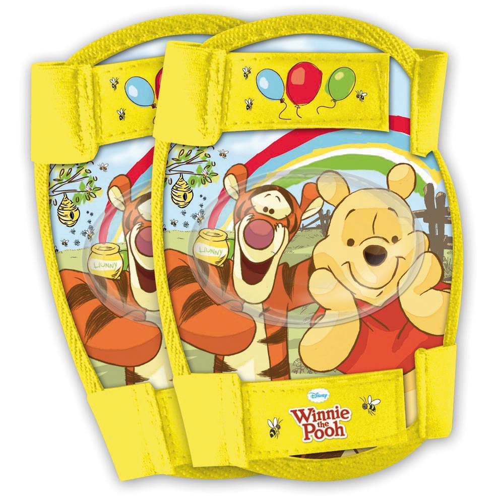 Set protectie Cotiere Genunchiere Winnie The Pooh Disney Eurasia 35401 imagine