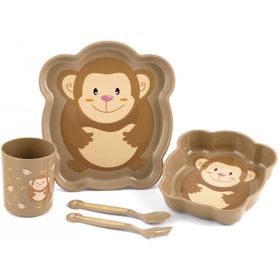 Set pentru masa 5 piese Maimutica Lulabi 7973095 imagine
