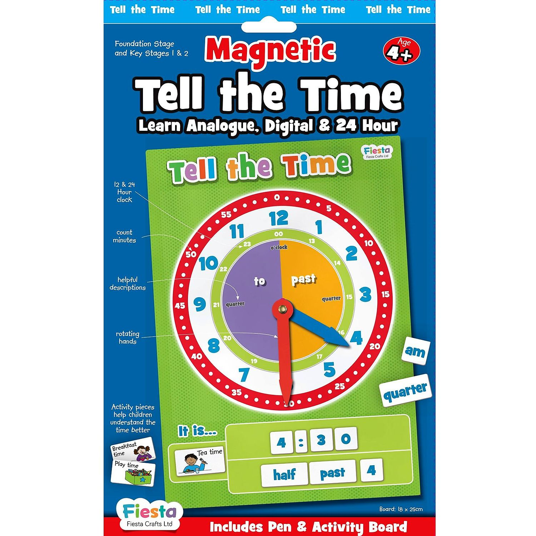 Set magnetic Cat e Ceasul Fiesta Crafts FCT-2763