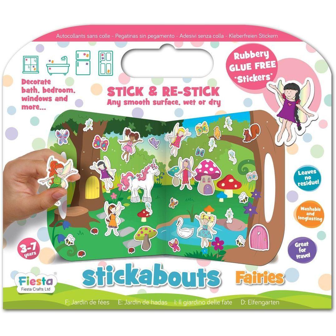 Stickere Zane Stickabouts Fiesta Crafts FCT-2822 imagine