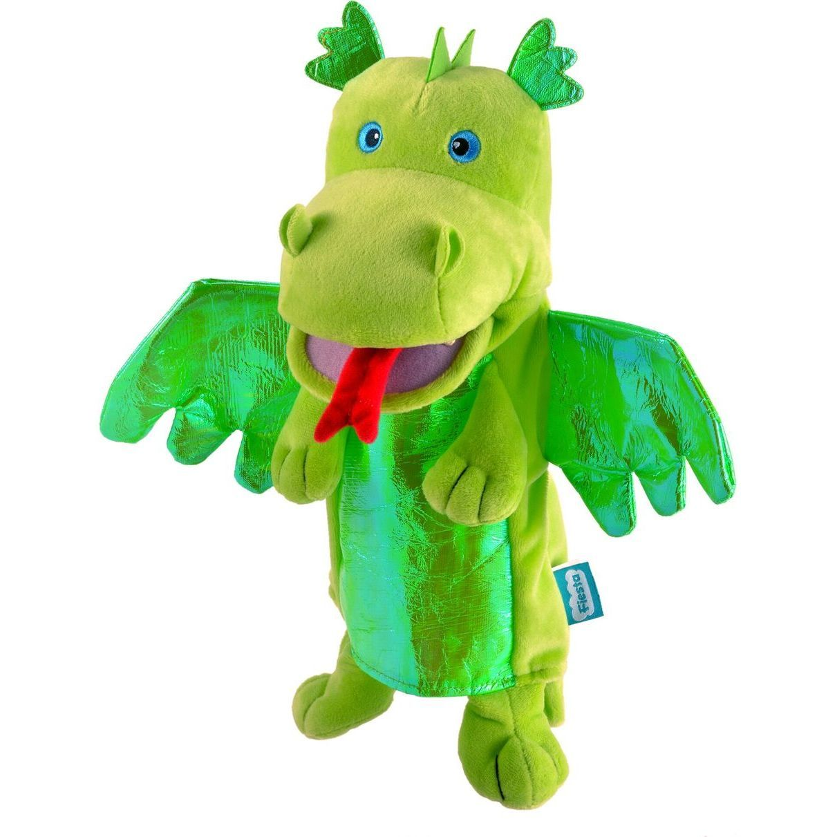 Marioneta de mana Dragonul Verde Fiesta Crafts FCT-2186