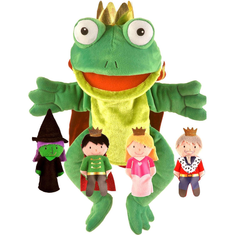 Set Marionete Printul Broscoi Fiesta Crafts FCT-2784