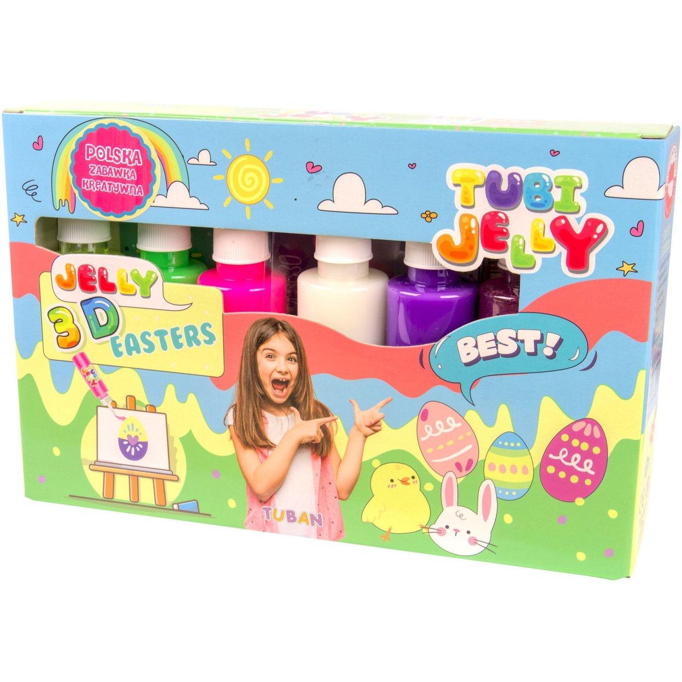 Set Tubi Jelly cu 6 culori - Pasti Tuban TU3325 imagine