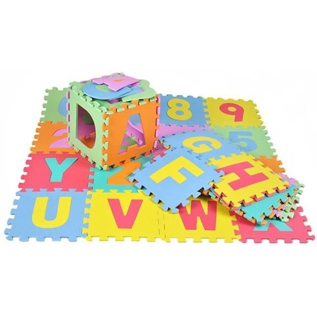 Covor puzzle 36 piese Iso Trade MY17366 imagine