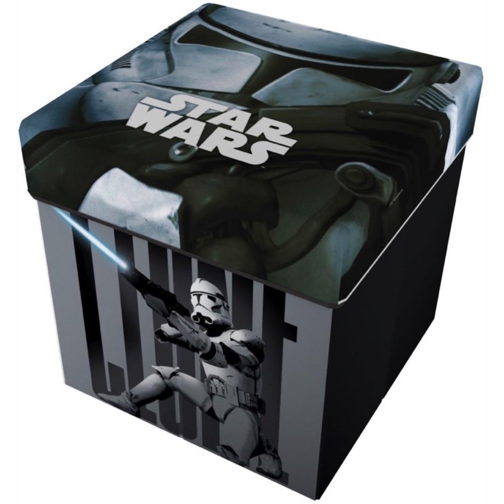 Taburet pliabil cu spatiu de depozitare Star Wars Star ST41422 imagine