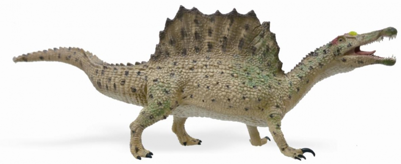 Figurina dinozaur Spinosaurus mergand pictata manual XL Collecta