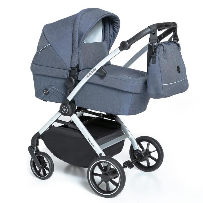 Baby Design Smooth carucior multifunctional 2 in 1 - 03 Navy 2020 imagine