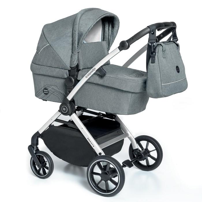 Baby Design Smooth carucior multifunctional 2 in 1 - 07 Gray 2020 imagine