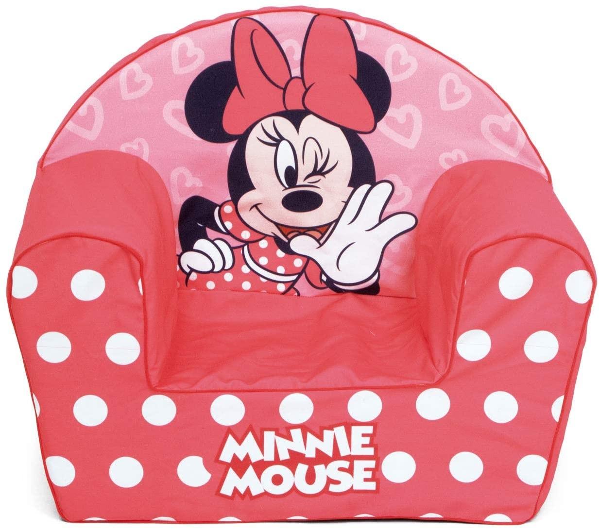 Fotoliu din burete Minnie Mouse imagine