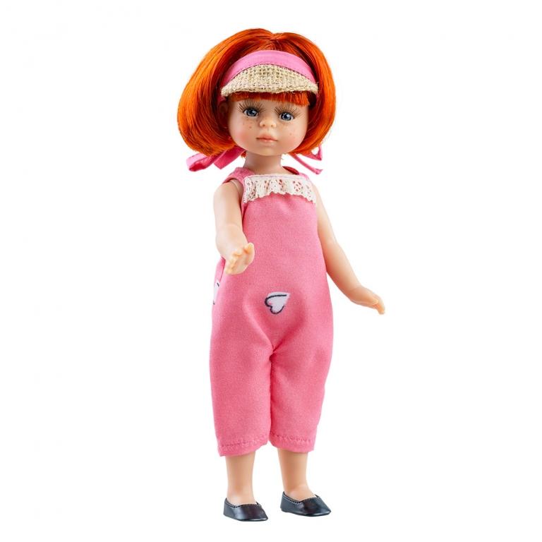 Papusa MARIA in salopeta roz - MiniAmigas, Paola Reina