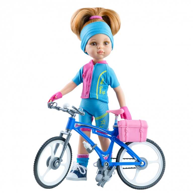 Papusa DASHA ciclista - Amigas, Paola Reina