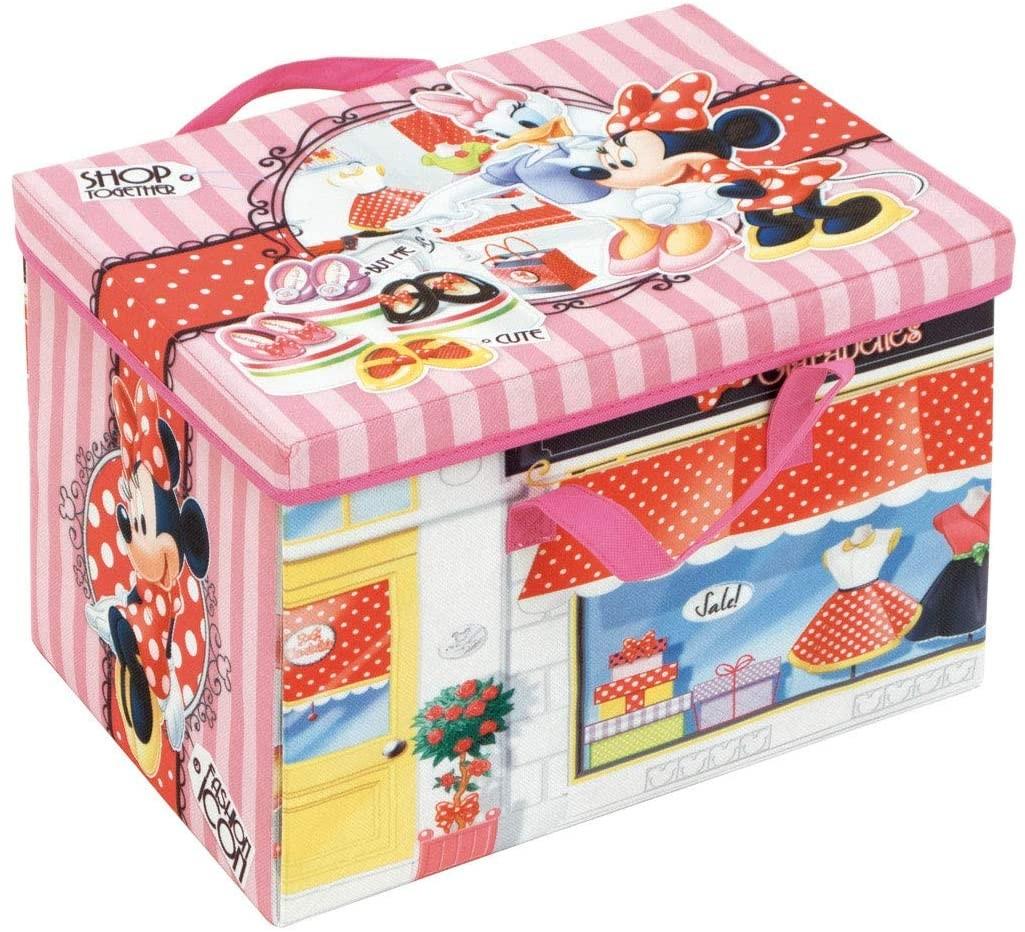 Cutie pentru depozitare jucarii transformabila Minnie Mouse imagine
