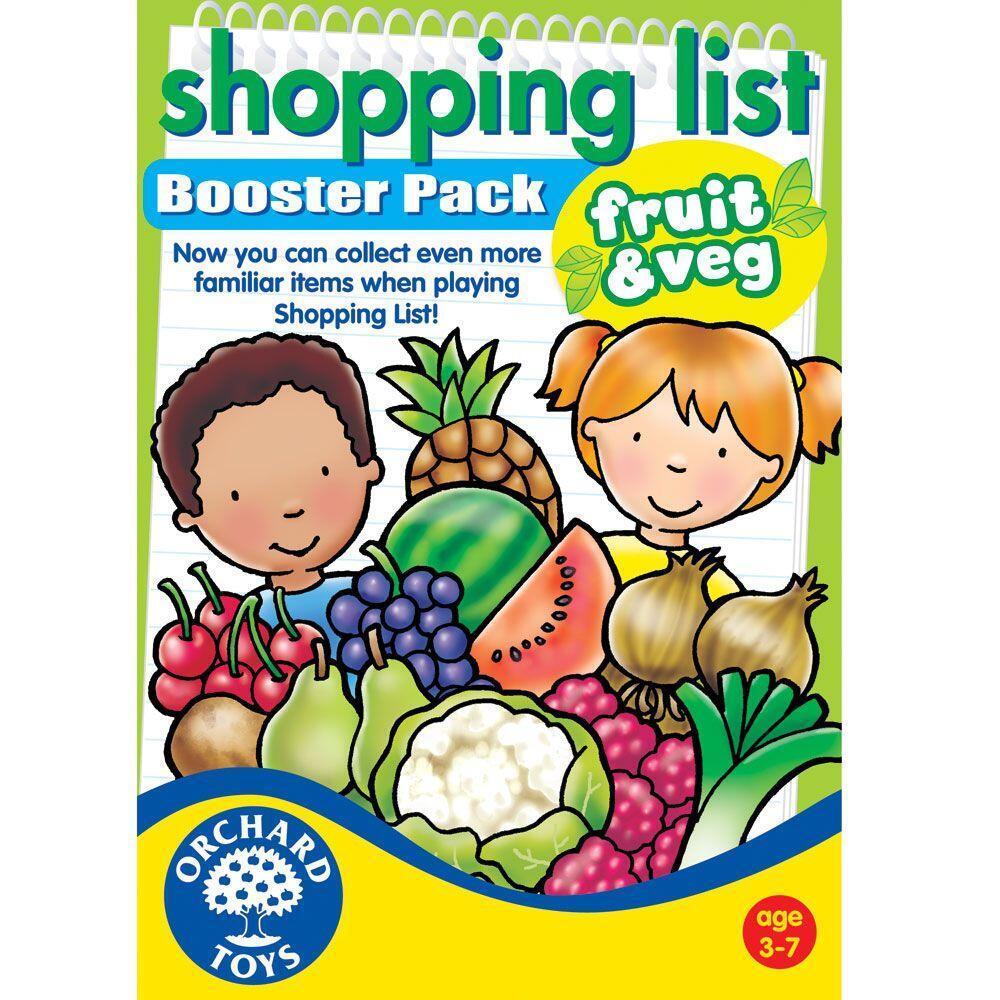 Lista de cumparaturi - Fructe si Legume imagine
