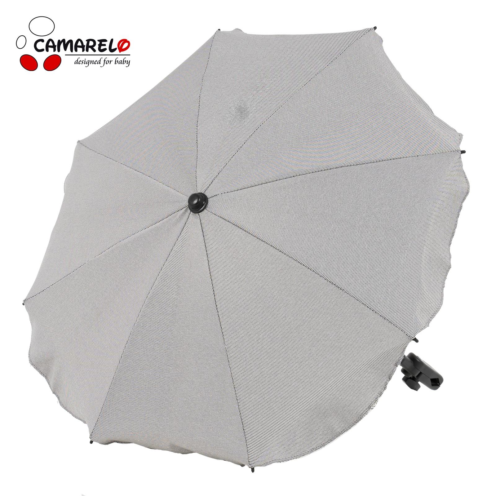 Umbrela Carucior Camarelo Gri Deschis imagine