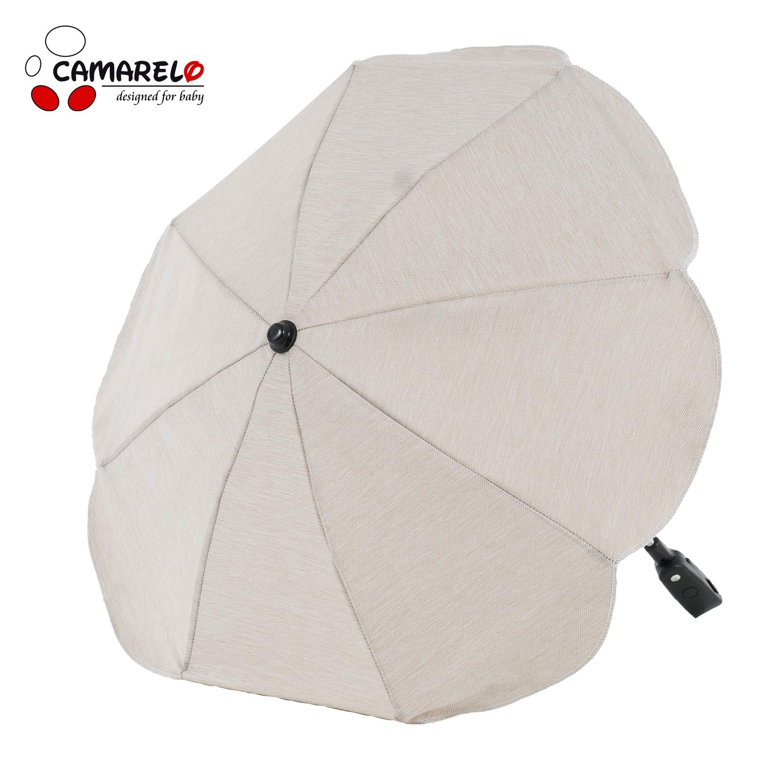 Umbrela Carucior Camarelo Bej Deschis imagine