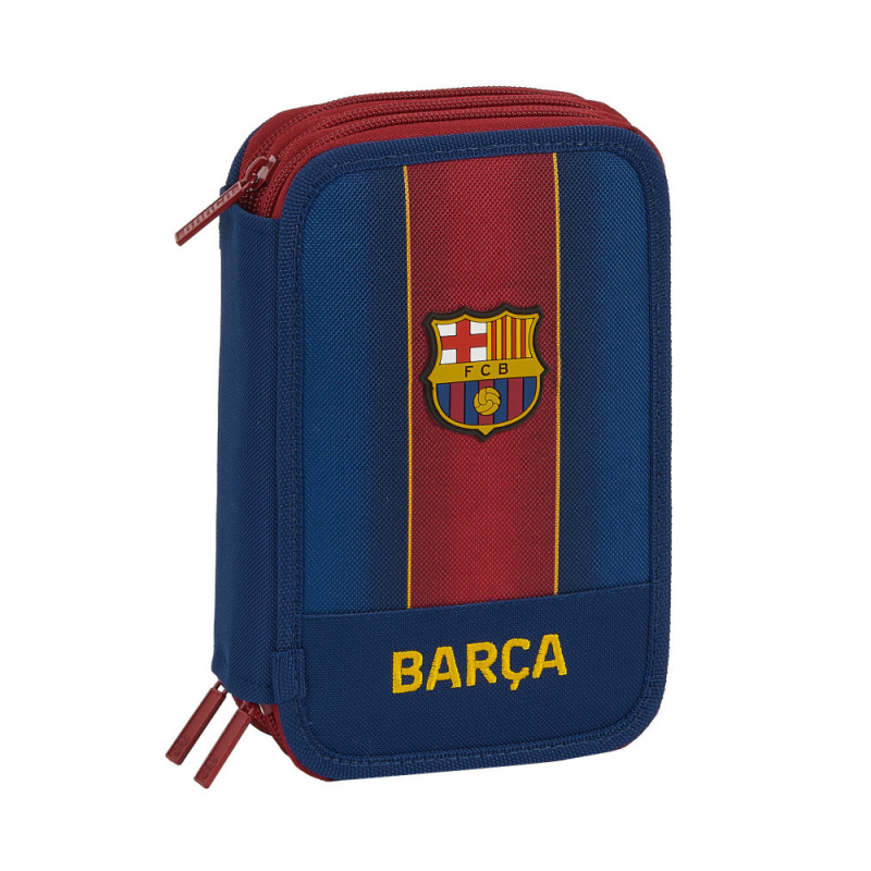 Penar triplu echipat 41 piese FC Barcelona imagine