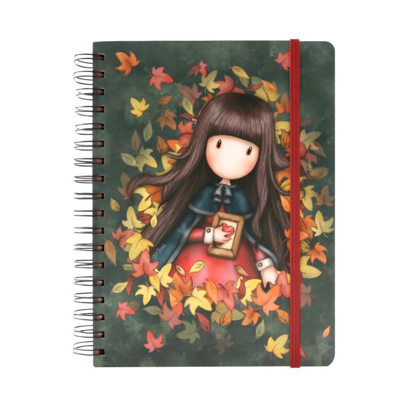 Agenda cu spira mare Gorjuss - Autumn Leaves imagine