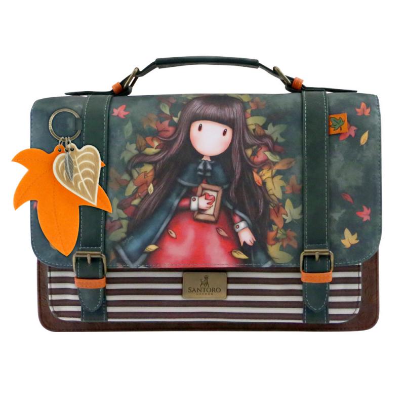 Geanta cu catarame Gorjuss-Autumn Leaves imagine