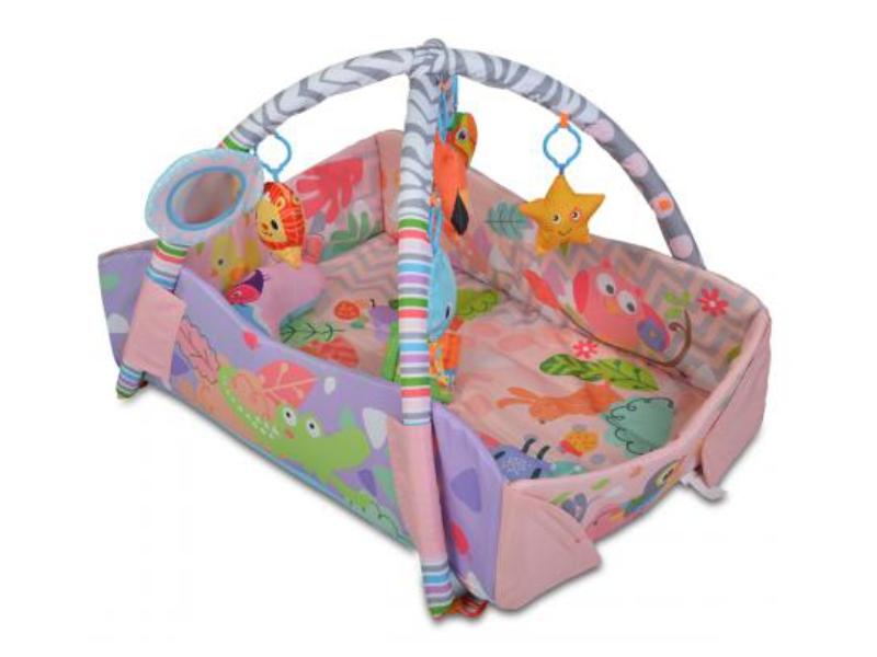 Covoras de joaca Cangaroo Oasis Pink imagine