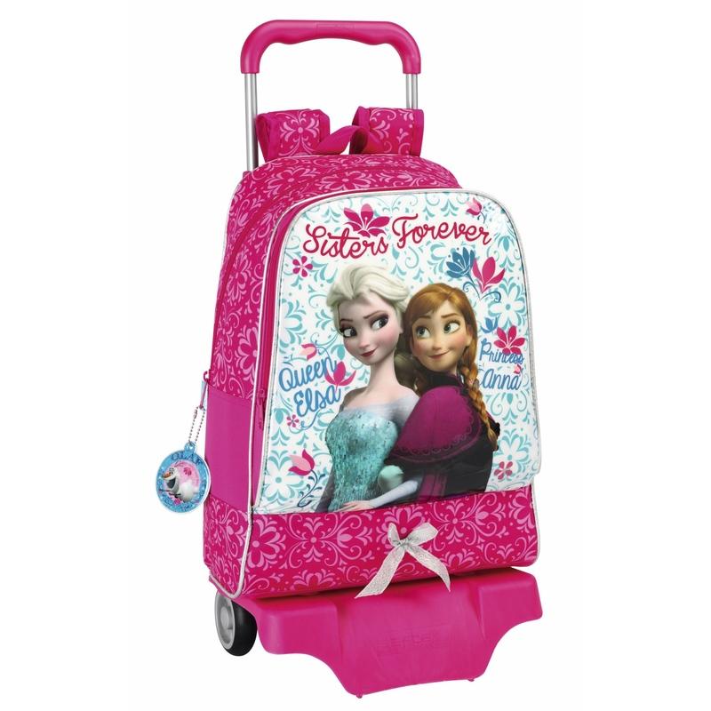 Ghiozdan troler scoala colectia Frozen II Disney imagine