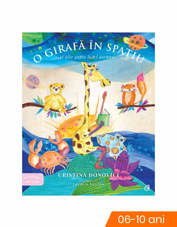 O girafa in spatiu si alte sapte lumi ascunse imagine