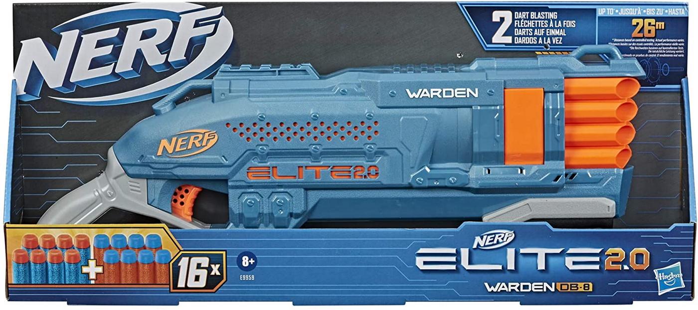 Nerf elite 2.0 blaster warden db-8 imagine