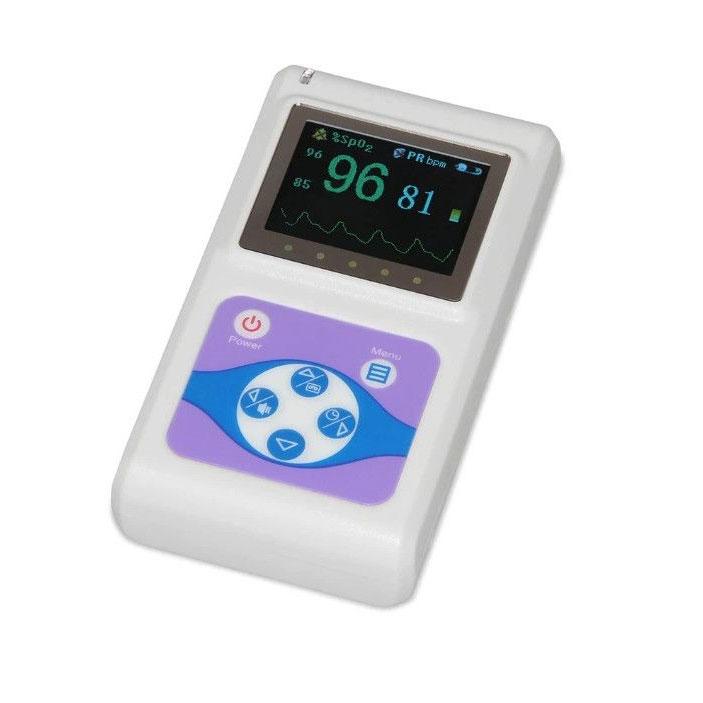 Pulsoximetru profesional Contec CMS60D, masoara saturatia de oxigen si rata pulsului imagine