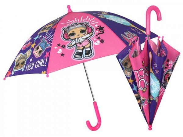 Umbrela manuala 42 cm cu inchidere cu siguranta LOL Surprise imagine