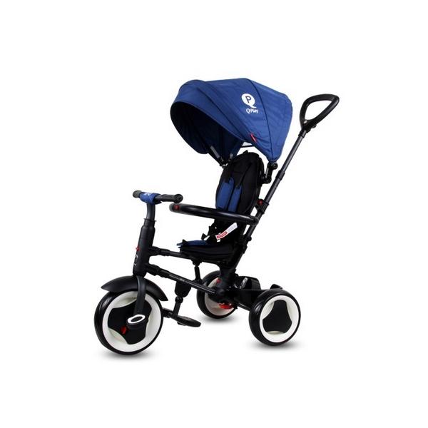 Tricicleta cu sezut reversibil sun baby 013 qplay rito - blue imagine
