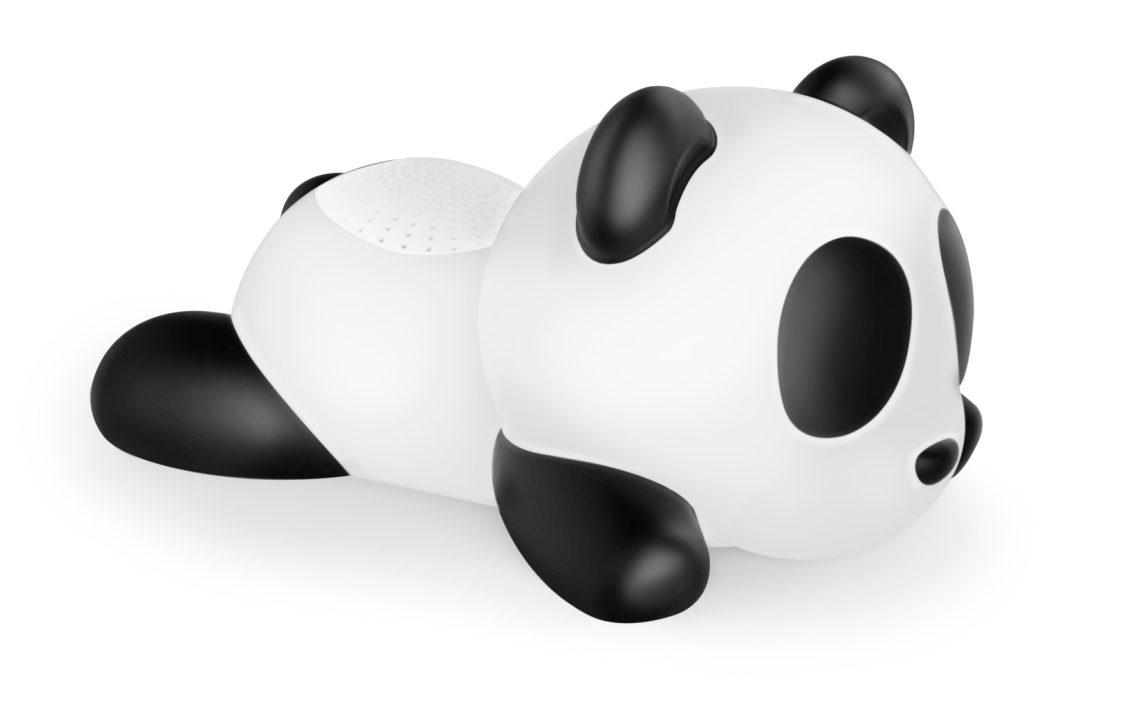 BOXA PORTABILA LUMINOASA BLUETOOTH SLEEPING PANDA BIGBEN, 33 CM imagine