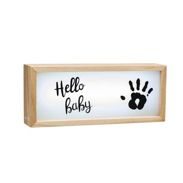 Caseta luminoasa cu amprenta Baby Art imagine