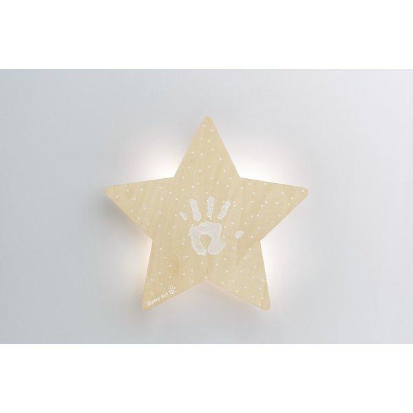 Lampa de veghe cu amprenta vopsea Baby Art imagine
