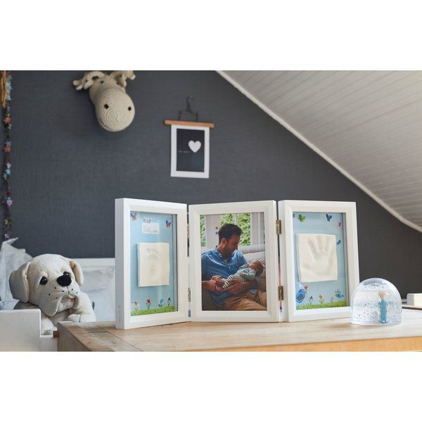 Rama foto cu dubla amprenta editie limitata MBT Baby Art imagine