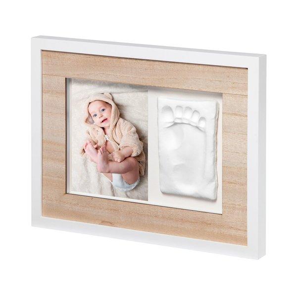 Rama Foto lemn cu amprenta Tiny Style Baby Art imagine