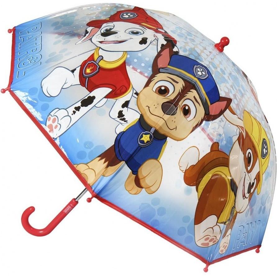 Umbrela transparenta Paw Patrol, diametru 66 cm SunCity CEP2400000399 imagine