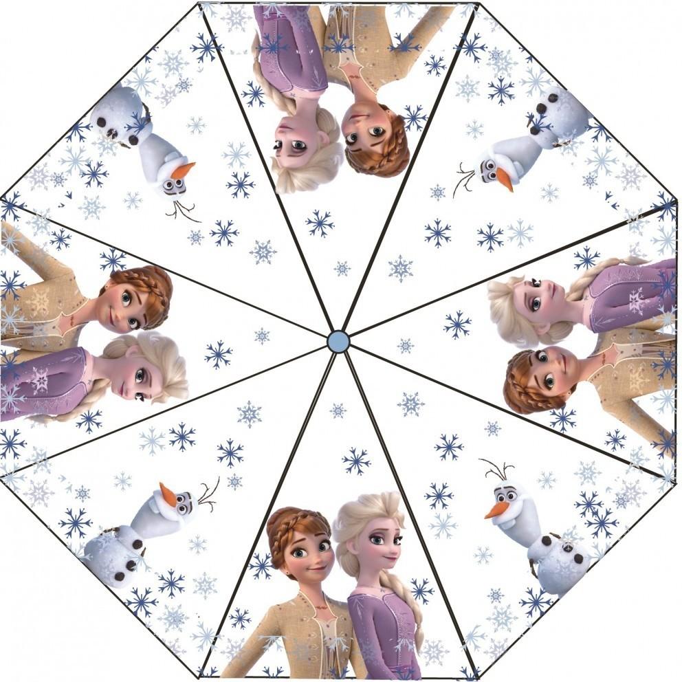 Umbrela transparenta Frozen 2, diametru 76 cm SunCity CTL08838 imagine
