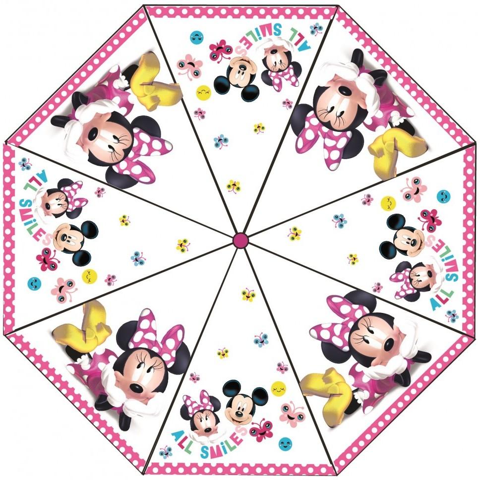 Umbrela transparenta Minnie, diametru 76 cm SunCity CTL008837 imagine