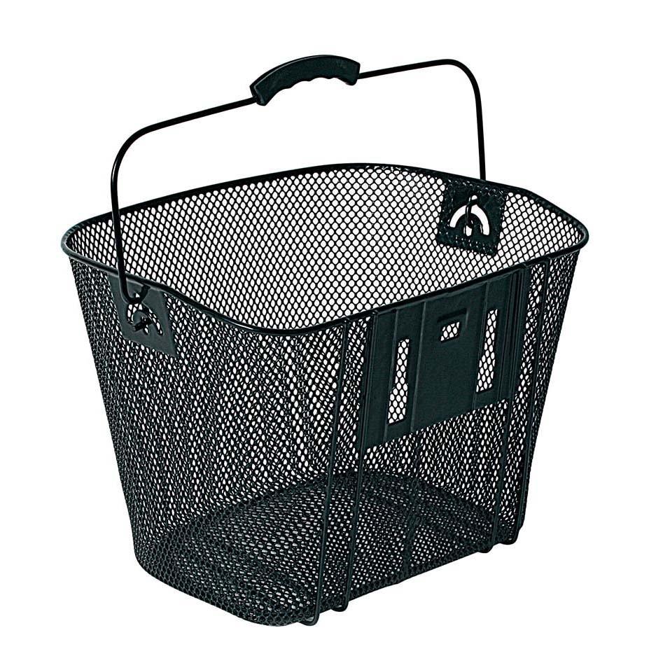 Bellelli cos pentru bicileta din metal negru imagine