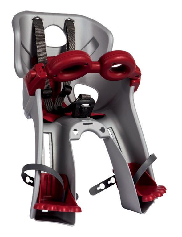 Bellelli Freccia B-Fix scaun bicicleta pentru copii pana la 15kg - Silver imagine