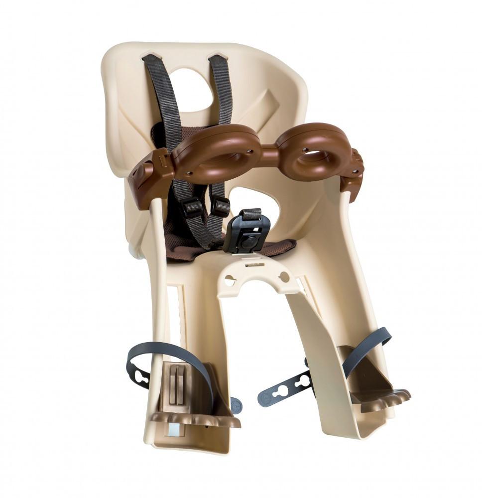 Bellelli Freccia B-Fix scaun bicicleta pentru copii pana la 15kg - Beige Vintage imagine